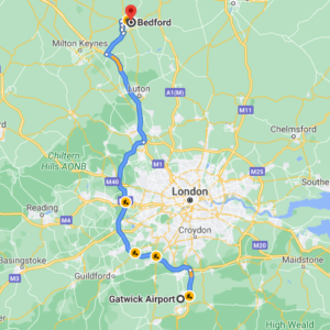 Gatwick to Bedford