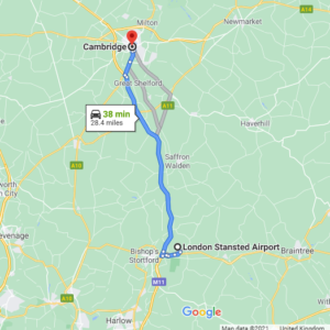 Stansted to Cambridge